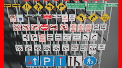 Pack – Traffic Signs