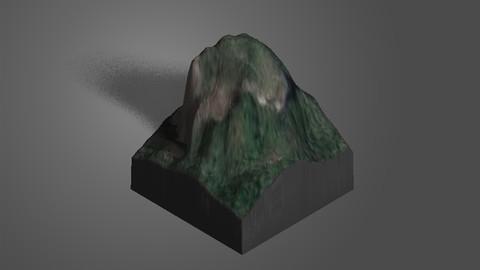 Mount Cooroora 3D Print