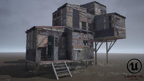Modular Post-Apocalyptic Buildings