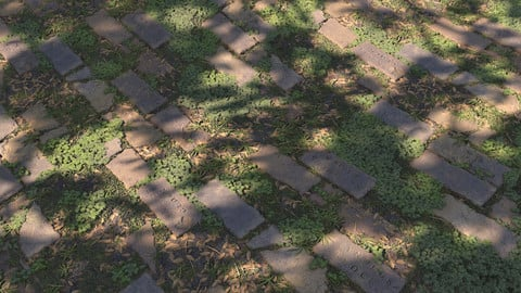 Brick Ground Material | Substance Designer Graphs