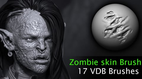 Zombie skin VD Brushes