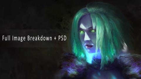 Destiny FanArt PSD and Breakdown