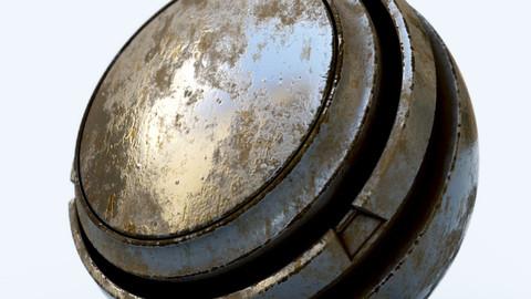Damaged Metal 1 - Smart Material