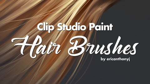 Clip Studio Paint - Hair Brushes