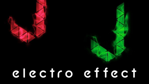 Electro Effect Logo Reveal Tutorial And Project file