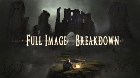 Dark Souls Fan Art - Image breakdown
