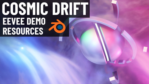 Cosmic Drift - EEVEE Demo Resources