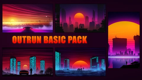 Outrun Basic Pack