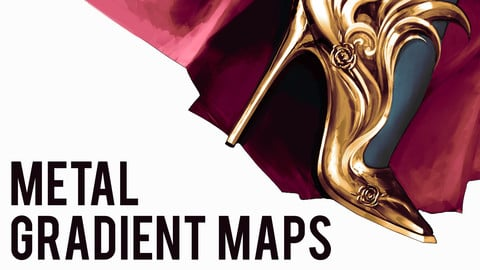 METAL GRADIENT MAPS | PHOTOSHOP