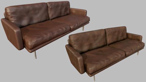 Design Couch 01 - PBR
