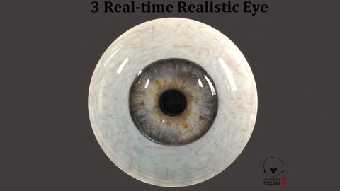 Real-time Realistic Eyes Pack01