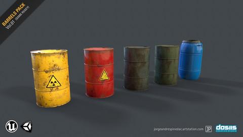 Barrels Pack Vol. 01