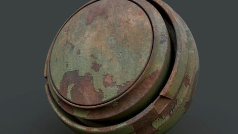 Old Rusted Paint - Smart Material