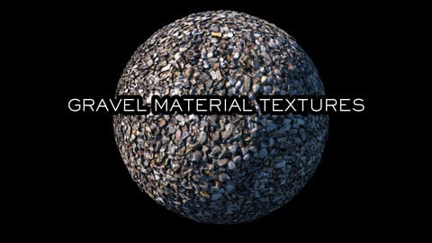 Gravel Material Textures