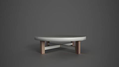 Low poly Coffee Table