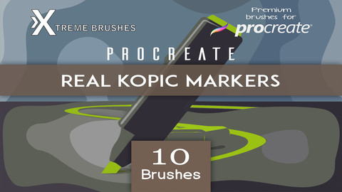 Procreate Real KOPIC markers!