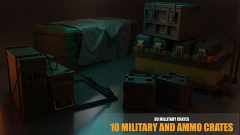 Military and Ammo Crates