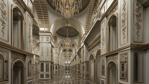 Classic Interior Scene 317