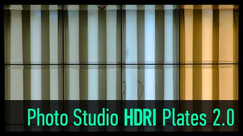 Photo Studio Light Plates HDRI vol 2.0