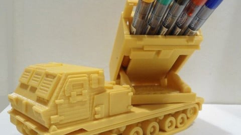 Missiles Launcher Pen & Pencil holder