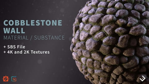 Cobblestone Wall | Substance Material