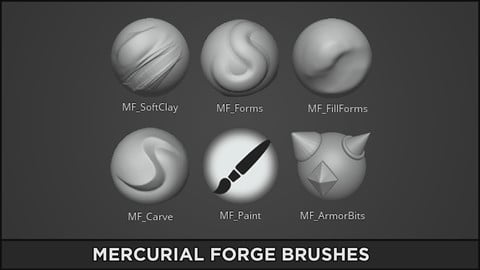 Mercurial Forge Brushes