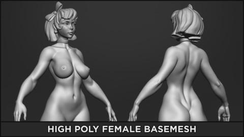 BASEMESH HIGH - Standard Female