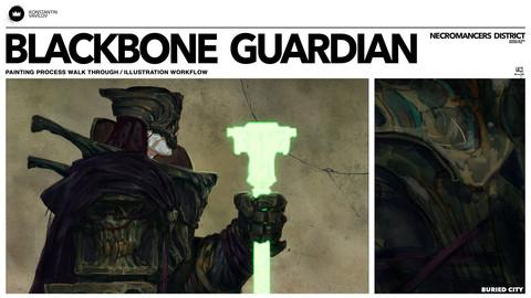 Blackbone Guardian - Painting Process walk through