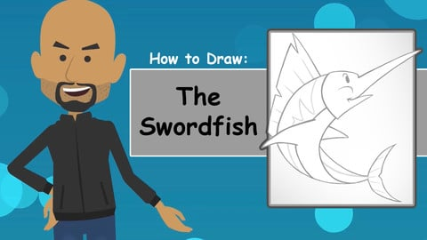How To Draw The Swordfish