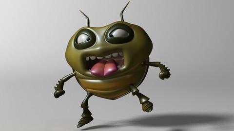 Cartoon Bug RIGGED