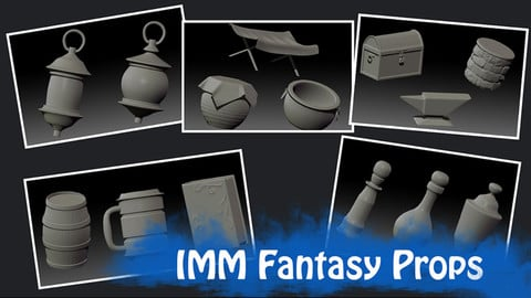 IMM Fantasy Props Brush