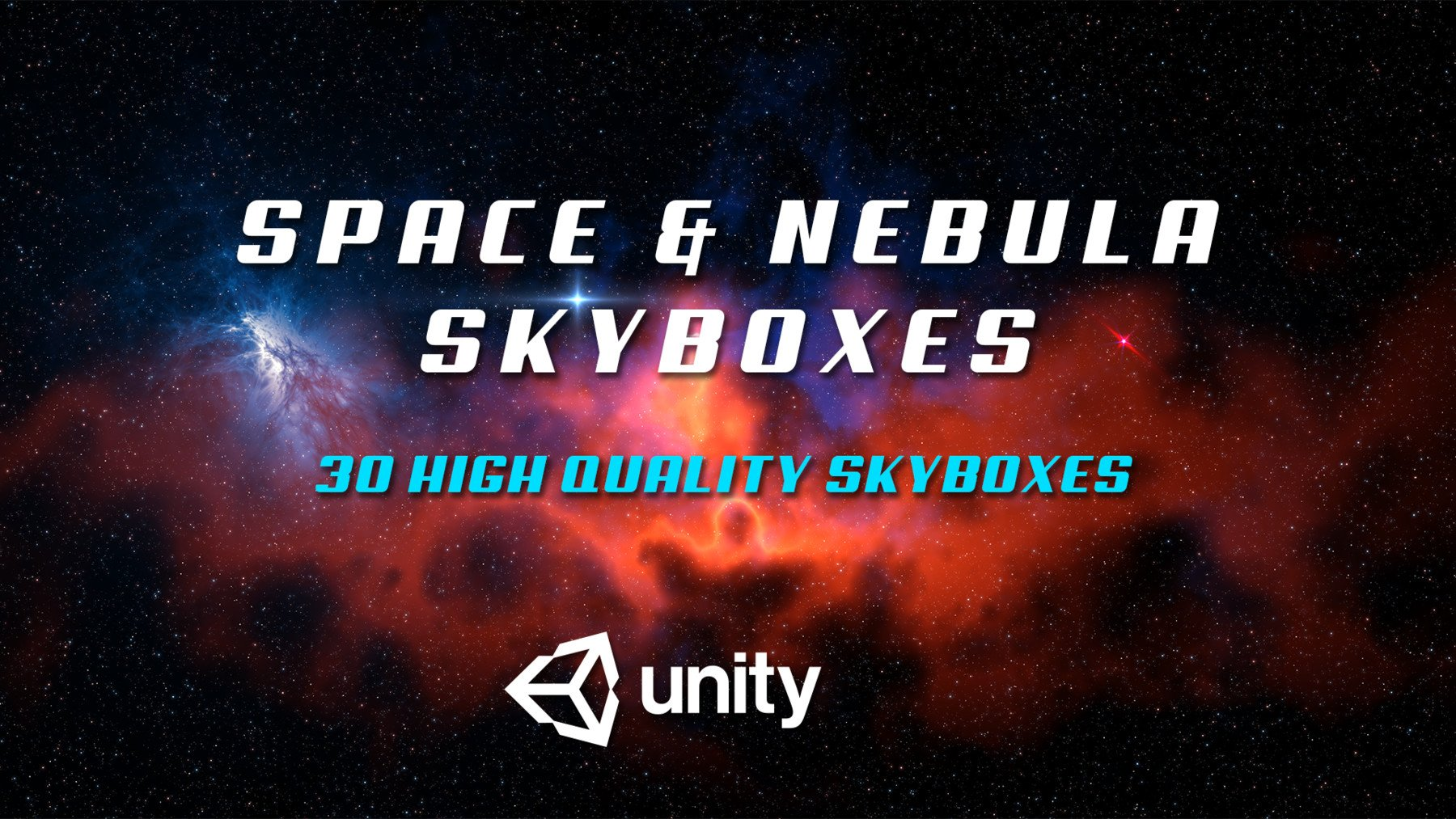 Space & Nebula Skyboxed for Unity 3D engine by Antonis Fassolas