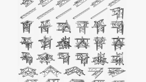 Triangular Truss Standard (Collection 41 Modular PCS)