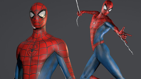Spider-Man - Ready Game - 3D Model
