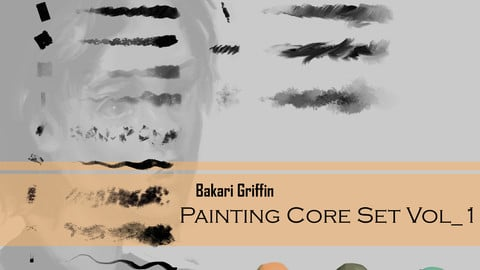 Bakari Griffin - Painting Brush Core Set Vol_1