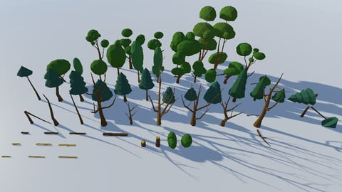 Big Trees Pack