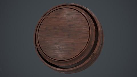Slightly Worn Wood - Smart Material