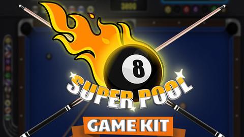 Super Pool Billiard Game UI Kit