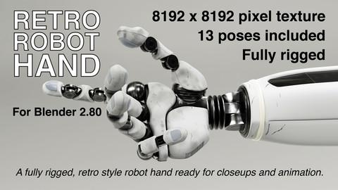 Retro Robot Hand