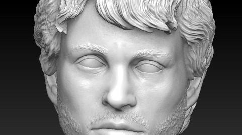 Hugh Dancy aka Will Graham (hannibal) headsculpt