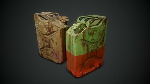 Game ready Jerry Cans - Complete Files