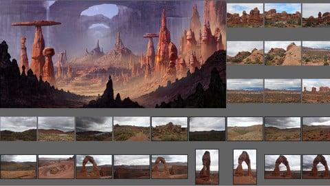 Exotic Canyons - PHOTOPACK 02