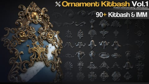 Ornament Kitbash Vol.1