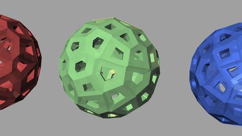 Voronoi Ball with grasshopper