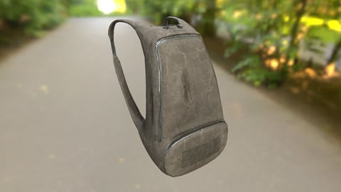 Backpack LOW-POLY PBR