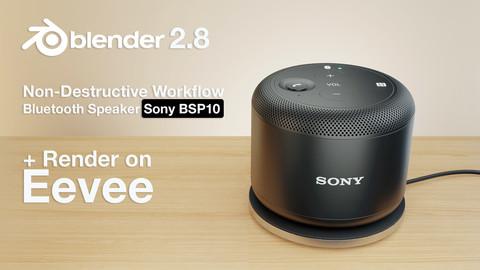 Sony BSP10 - Non-destructive tutorial on blender