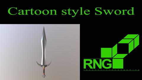 Cartoon style Sword