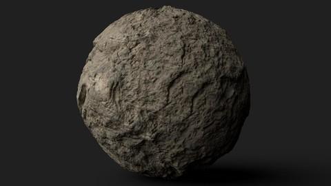 PBR Scanned Rock Surface