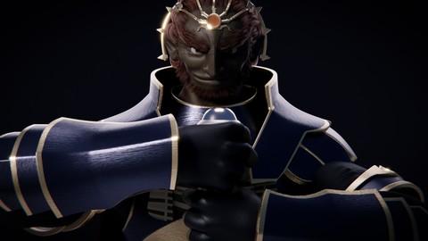 Ganondorf Fan Art (Rigged Model)