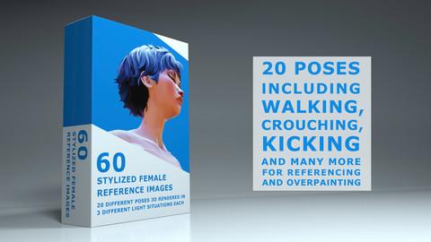 Stylized Female Pose Pack